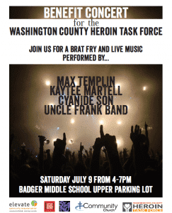 KEBERLE, PATRYKUS AND LAUFENBERG IS HONORED TO ASSIST THE UPCOMING ELEVATE/HEROIN TASK FORCE BENEFIT CONCERT.