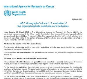 "World Health Organization International Agency for Research on Cancer indicating glyphosate is ""probably"" carcinogenic to humans. The Wisconsin Personal Injury Law Firm of Keberle, Patrykus & Laufenberg Is Helping Families Harmed By Roundup Obtain Compensation Lawsuits from Exposure to the Chemicals in Roundup Weed Killer Causing Cancer, Lymphoma, Multiple Myeloma"